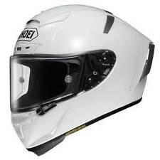 Caschi bianco Shoei moto per la guida di veicoli