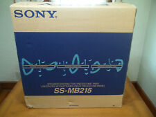 SONY SS-MB215 3 Way Stereo Speakers BRAND NEW IN THE BOX CIB NOS One Pair
