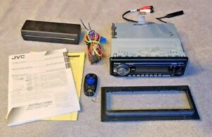 JVC Arsenal KD-AR770 CD Player In Dash Receiver~ TESTED & WORKS!!