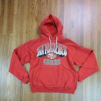 Vintage NFL San Francisco 49ers Hoodie Sweatshirt Sz Large Football