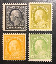 TDStamps: US Stamps Scott#507/513 (4) Mint 1NH 3H OG