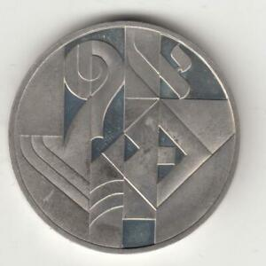 1986 Art in Israel 38th Anniversary PROOF Silver Coin, 2 NIS, Off-Quality
