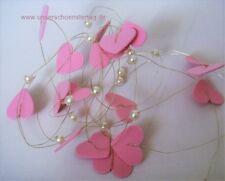 Tischdekoration zur Hochzeit Verlobung Kommunion Tischdeko TD0052 ( 6 - rosa Her