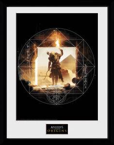 Assassins Creed Origins Wanderer Framed Collector Print Gaming 30x40cm | 12x16