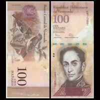 Venezuela 100 Bolivares, 2012-15, P-93, A-UNC