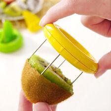 New Vegetable Fruit Kiwi Cutter Device Digging Core Spiral Slicer Kitchen Peeler