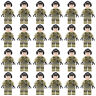 24 pcs WW2 American Soldier Military Mini figures Army Building blocks Fit Le*go