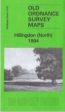 OLD ORDNANCE SURVEY MAP Hillingdon (North) 1894: Middlesex Sheet 14.04