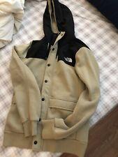 New The Northface Beige Hoodie Jacket Sz S