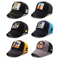 2019 Mens Goku Dragon Ball Z Cap Goku vegetta Hat Baseball Caps high Quality