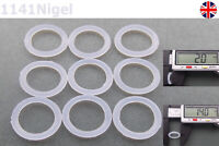 14mm OD  2mm CS O Rings Seal Silicone VMQ Sealing O-rings Washers