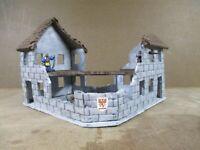 2 Story Stone Corner Building (Mordheim Version)