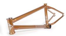 """FIT WIFI V.2 COPPER GODDESS FRAME 20 BMX BIKE CO 20"""" V2 BIKES AUSTIN AUGIE GOLD"""