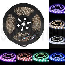 RGBW RGB+ Cool White Waterproof 16.4ft 5050 5M 300Led Strip Light Flexible Decor