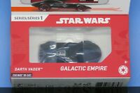 Hot Wheels ID DARTH VADER with Microchip Factory Sealed STAR WARS New for 2019