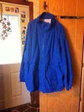 Members Only Mens Large Royal Blue Coat