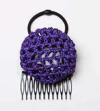 PonyBun® Hair Bun Maker 4-Pack: plum, silver, navy, orange + Free Shipping!