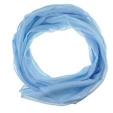 Pañuelos de mujer de color principal azul de seda