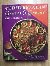 Mediterranean Grains & Greens Paula Wolfert 1999 New Hc/Dj