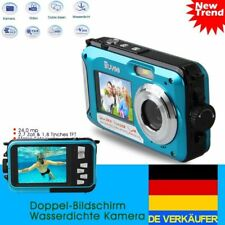 24MP DIGITALE UNTERWASSER KAMERA OUTDOOR HD 1080P Camcorder Doppel Bildschirm
