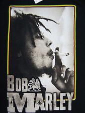 NEW BOB MARLEY SMOKING MENS T-SHIRT LARGE