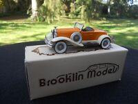 BROOKLIN MODELS 12 HUDSON GREATER 8 1931