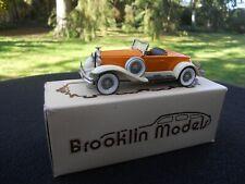 BROOKLIN MODELS 12 HUDSON GREATER 8 1931 MINIATURE EN PARFAIT ETAT AVEC BOITE