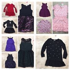 girls youth epic threads dress holiday wedding dance red green black pink 10-19