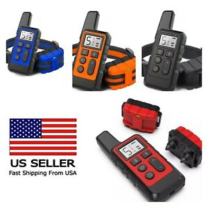 Dog Training Collar Waterproof 3 Modes beep  vibration and shock  up to 500 m