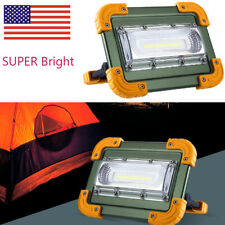 100000lm Cob Led Work Light Rechargeable Inspection Flashlight Spotlight Lamp