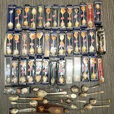 More details for silver plated spoons vintage commemorative exquisite epns spoon bundle royalty