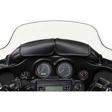 WILLIE & MAX DUAL POUCH WINDSHIELD BAG FOR HARLEY DAVIDSON 1996-2013 MODELS