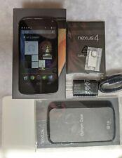LG Nexus 4 (E960) - 16GB - Black ( Factory Unlocked) Smartphone