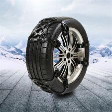 3pcs/set Car Truck Van Snow Tire Antiskid Chains Tendon Wheel Antiskid TPU Black