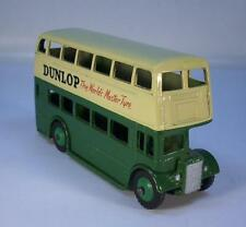 DINKY TOYS 290 DOUBLE DECKER LONDON BUS England Dunlop #3473