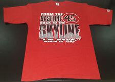 Vintage Logo 7 Chicago Bulls Michael Jordan #45 The Return graphic tshirt XL NBA