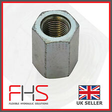 "BSP FEMALE BARREL NUT HYDRAULIC FITTING - Various SIzes  1/8"" - 1"""