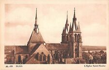 BF5335 l eglise saint nicolas blois france    France