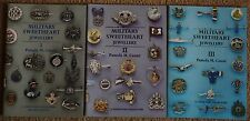 Military Sweetheart Jewellery Volumes 1, 2 and 3 by Pamela M. Caunt.