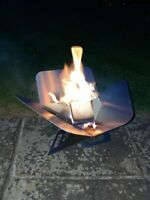 Collapsible Flat Pack Firepit Fire Pit- FREE DELIVERY THROUGHOUT UK