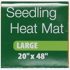Seedling Heat Mat 48 x 20-Inch Gardening Vegetables Garden Planting Grow New