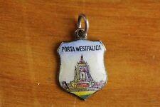 VINTAGE PORTA WESTFALICA CHARM 800 SILVER 800 GREAT ONE FOR BRACELET-S8755