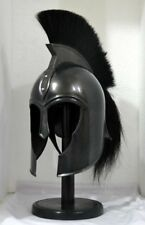 Troy Achilles Armor Helmet Medieval Knight Crusader Spartan Halloween Helmet