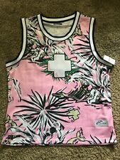 Pink Dolphin Paradise Jersey Tank Top 2Xl Nwt