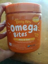 Omega Bites for Dogs, Skin & Coat, All Ages, Chicken Flavor, 90 Soft Chews