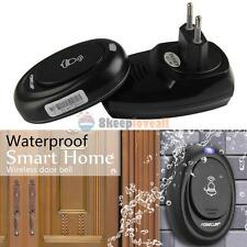 36 Songs Wireless Receiver Remote Control 100M Waterproof  Doorbell Door Bell ##