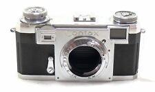 Zeiss Contax IIa black dial rangefinder body RF EXC++