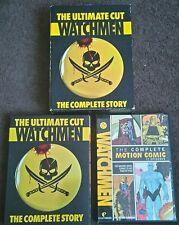 WATCHMEN: The Ultimate Cut 5-Disc Set DVD 2009 Complete Story Set - REGION 1 BOX