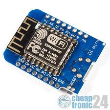 D1 mini ESP8266 NodeMCU WeMos  ESP12 IoT LUA WLAN WiFi Arduino