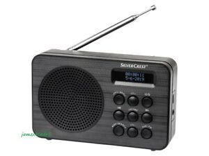 DAB+ and FM Digital Radio w/ RDS Function, 60 Presets Sations & Dual Alarm | New